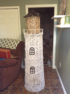 Decorative Litehouse with lights