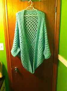 Handcrafted crochet sweaters