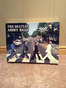 1000 piece Abbey Road Beatles jigsaw puzzle -never opened!