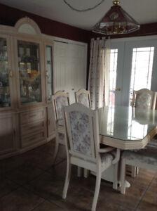 Set de cuisine - mobilier de cuisine en bois