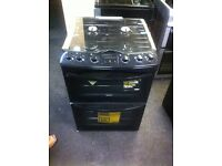 PRP £450 + NEW ZANUSSI GAS COOKERS BLACK COMES WITH A STORE WARRANTY BLACK ZANUSSI