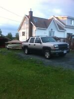 2004 Chevrolet Avalanche 1500 AS IS