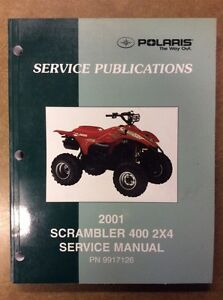 MANUAL 2001 POLARIS SHOP MANUAL