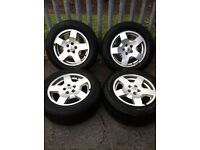 landrover alloys with goodyear tyres