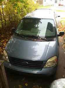 2004 Ford Freestar Blue Minivan, Van