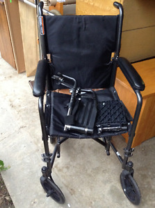 NEW travel wheelchair for sale