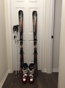 Men's and ladies downhill ski package