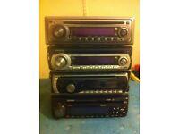 Car stereos, CD players £6 each