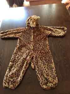 Cheetah costume size 2T
