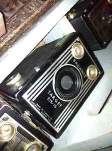 Kodak Brownie Target camera six-16 - art deco