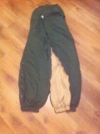 thermal army trousers