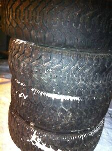 4 BRAND NEW  GOODYEAR NORDIC TIRES West Island Greater Montréal image 4