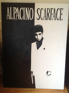 Toile Al Pacino / Scarface
