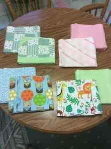 NEW baby items- receiving blankets, burp cloths, fleece blankets London Ontario image 5