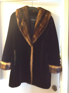Olympia Faux Fur Coat