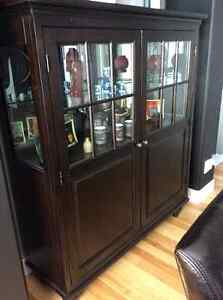 Dining table, 6 chairs, china cabinet (shaker style) Kingston Kingston Area image 1