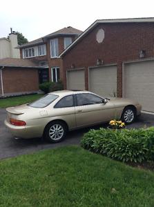 1993 Lexus SC 400 Gold package