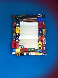 Mirror car toy effect Upcycled