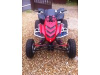 Raptor 660 off-road race quad fully rebuilt great for the snow