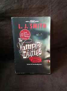 THE VAMPIRE DIARIES BY L. J. SMITH HARD PAPERBACK