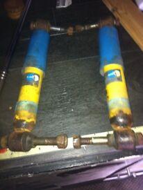 rear shocks citroen ax 106 205 saxo