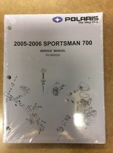 SHOP MANUAL POLARIS 05-06 SPORTSMAN 700