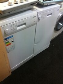 DISHWASHER WHITE BEKO SLIMLINE COMES WITH A FULLY WORKING STORE WARRANTY