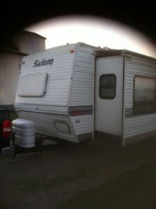 Try your trade for our 2001 Salem trailer