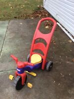 Fisher Price Push Tricycle