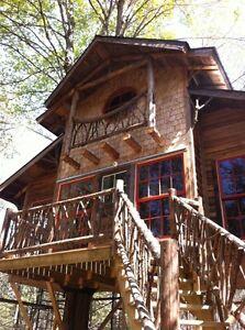 Petite maison perché (tout compris, hydro et internet)