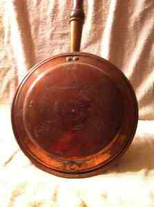 Antique Copper Bed Warmer. Sarnia Sarnia Area image 3