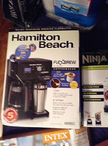 Hamilton Beach 2 way Coffee Maker