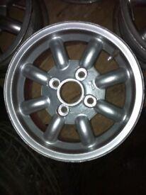 Classic mini alloys wheels £60