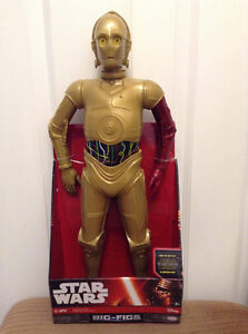 Star Wars C-3PO 19 inch action figure by Big Figs