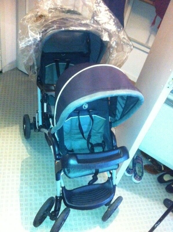 Ex mothercare double buggy