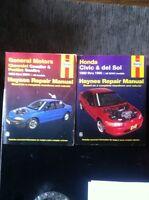 Haynes repair books