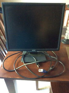 Acer Computer Monitor Screen 19""