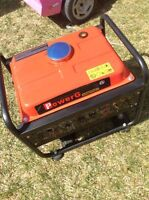 1200 watt generator like new