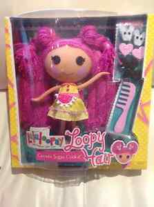 Large Lalaloopsy crumbs sugar cookie doll