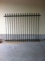 6 Foot Section of Wrought Iron Fence