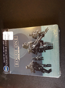 Star Wars Rogue One Steelbook Brand New Sealed