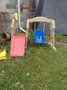 Swing and Slide climber