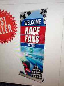 """2-40"""" Premium Roll Up Retractable Banner Stand - HARDWARE ONLY"""