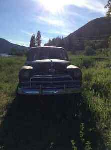 Restorable, lots of Chrome, great rat rod! Williams Lake Cariboo Area image 2