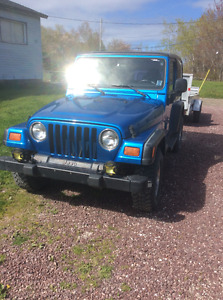 1999 Jeep Wrangler Coupe (2 door)