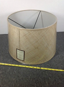 NEW IN PLASTIC Pottery Barn Architech's Sectional Lamp Shade