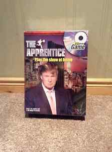 Donald Trump The Apprentice game UNOPENED-DVD and board game