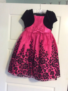 Girls size 5 party dress