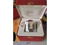 Cartier Chronograph Watch boxed