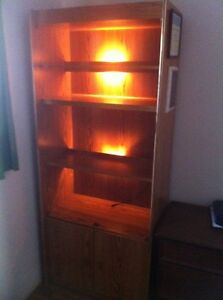 Bookcases and Stereo Stands For Sale